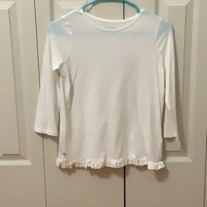 Girls long sleeve dressy blouse